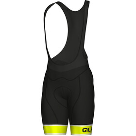 Alé Cycling Graphics PRR Sella Bib Shorts Herre fluo yellow-black